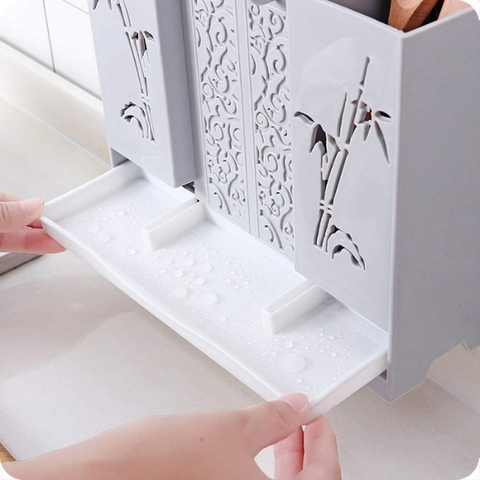 Image of Wall Mount Storage Drain Rack