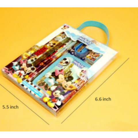 Image of Cartoon Character Stationery Set