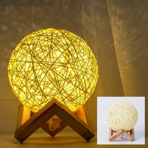 Image of Creative Bedroom Bedside Lamp