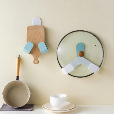 Image of Wall Mount Lid Holder