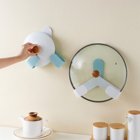 Wall Mount Lid Holder