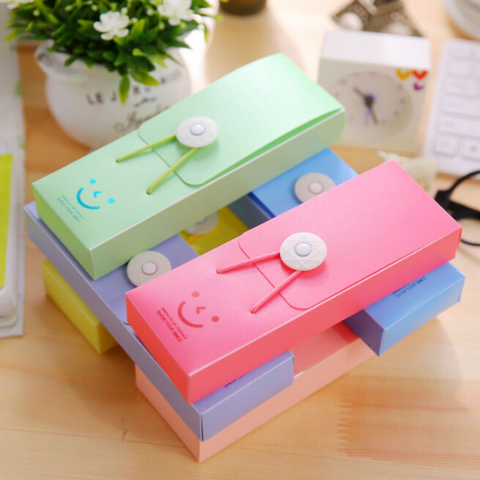 Image of Smile Pattern Pencil Box