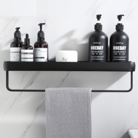 Image of Aluminum Bathroom Rack