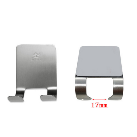 Stainless Steel Razor Holder (Set of 2)