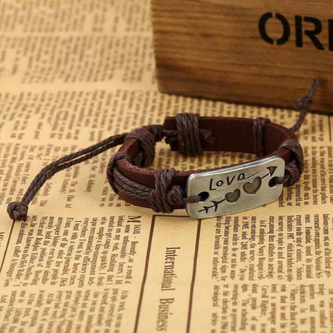 Image of Leather Bracelet