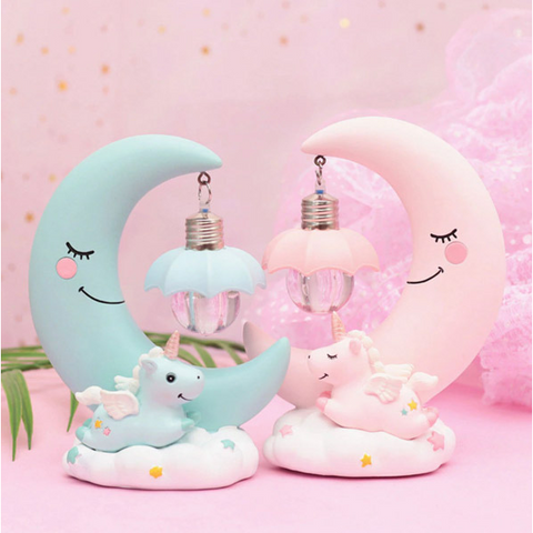 Image of Unicorn Moon Lamp