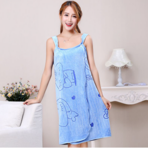 Image of Womens Bath Skirt Towel