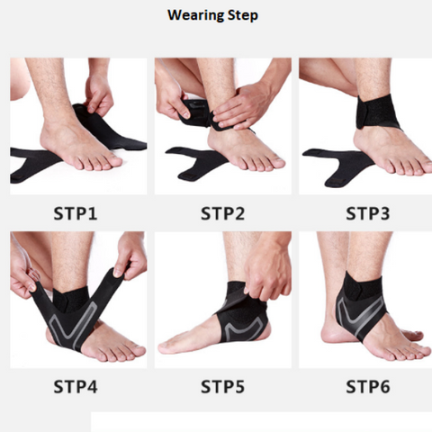 Image of Anti Sprain Ankle Sleeves