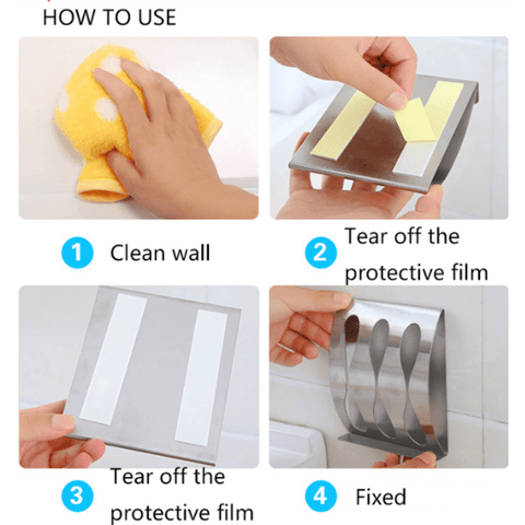 Image of Wall Mount Brush Holder