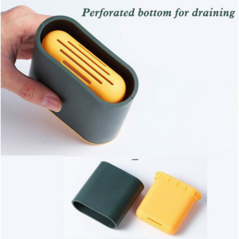 Image of Silicone Toilet Cleaning Brush