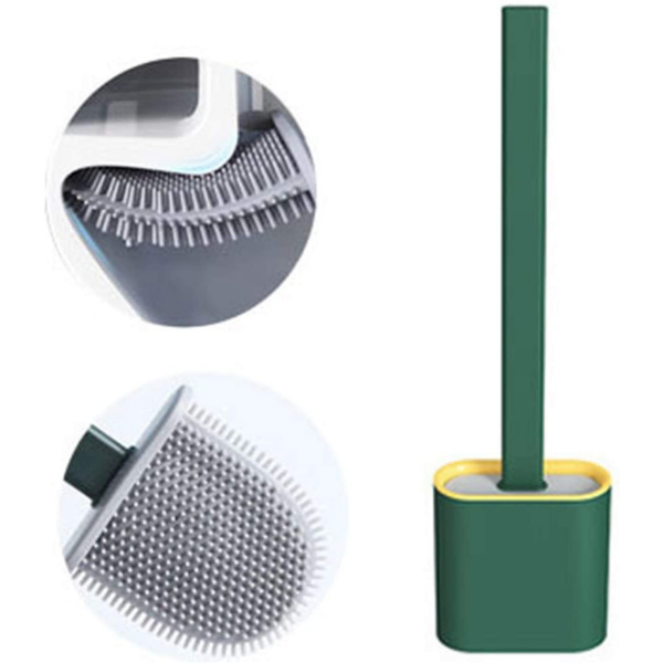 Silicone Toilet Cleaning Brush (4815844311074)
