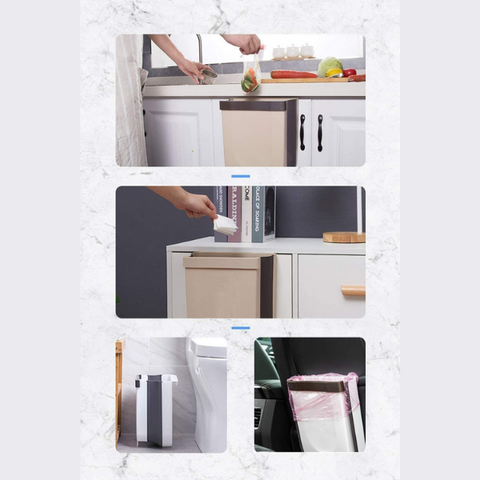 Image of Kitchen Folding Trash Can
