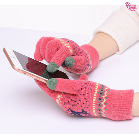 Knitted Touch Screen Gloves