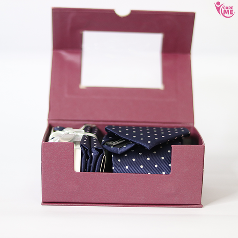 Mens Tie Cufflink And Coat Pin Set