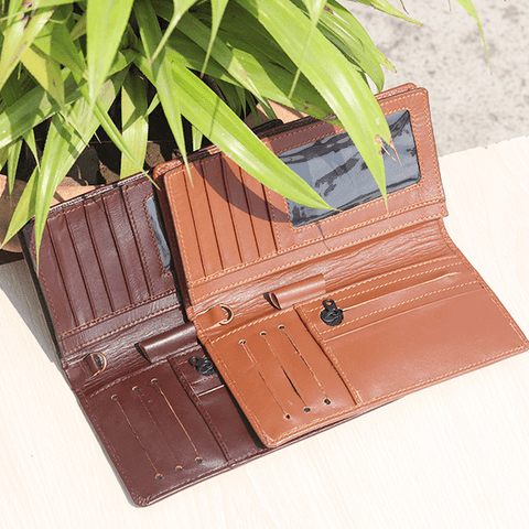 Image of Multi-Purpose Leather Wallet