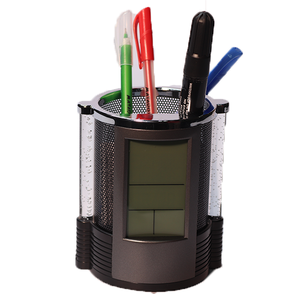 Digital Clock Pen Holder (4406392127522)