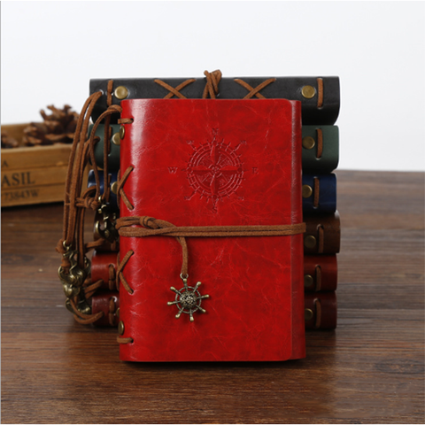 Image of Retro Pirate Ship Notebook