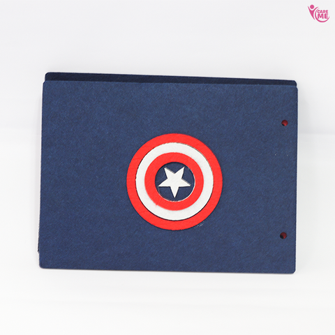 Super Hero Scrapbook