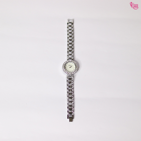 Image of Ladies Watch and Bracelet Set with Gift Box