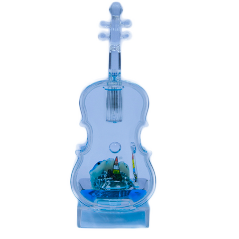 Image of Desktop Violin Shape Light