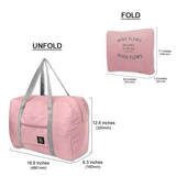 Folding Travel Bag (4324477239330)