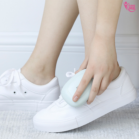 Image of Wall-Mounted White Shoes Wipe