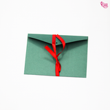 Blank Envelope with Red Ribbon (Set of4) (4348374417442)