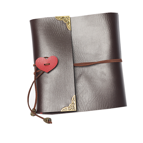 Image of Leather Scrapbook
