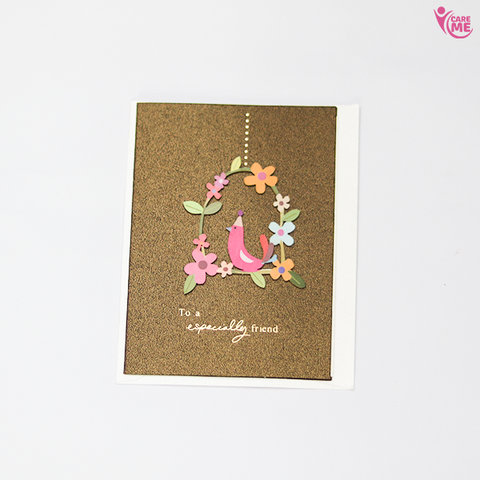Image of Wood Carving Birthday Card
