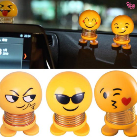 Image of Car Dashboard Smiley