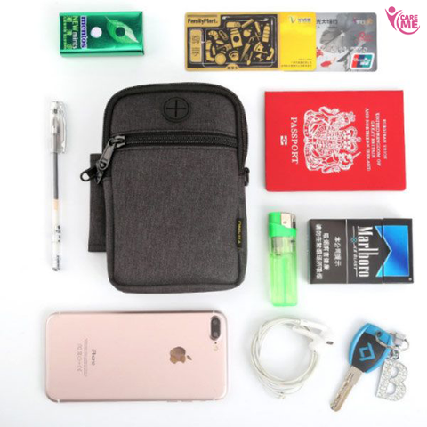 Hanging Passport Bag