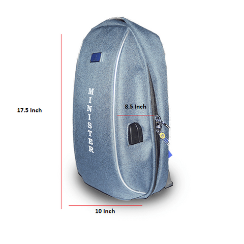 Image of Password Lock Laptop Backpack