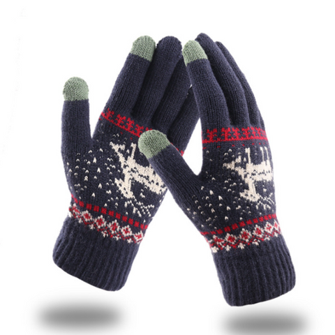 Image of Knitted Touch Screen Gloves