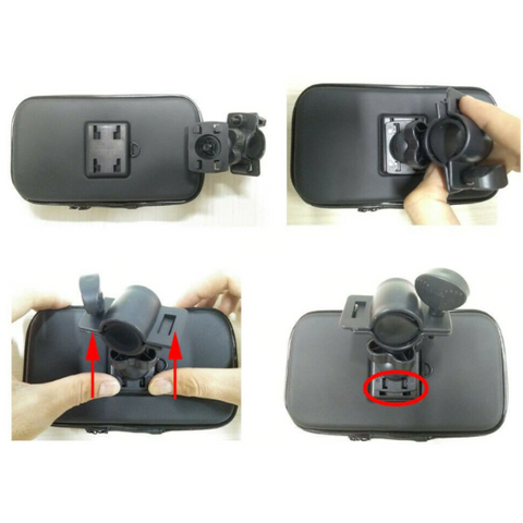 Image of Motorcycle Mobile Phone Bracket
