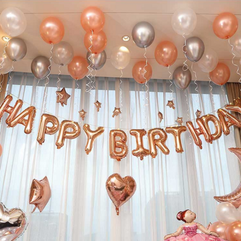 Image of Happy Birthday Foil Aluminium Ballon