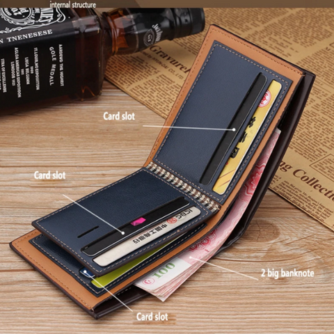 Image of PU Leather Embossed Wallet