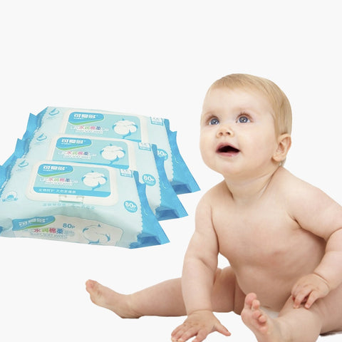 Image of Baby Cotton Wipes