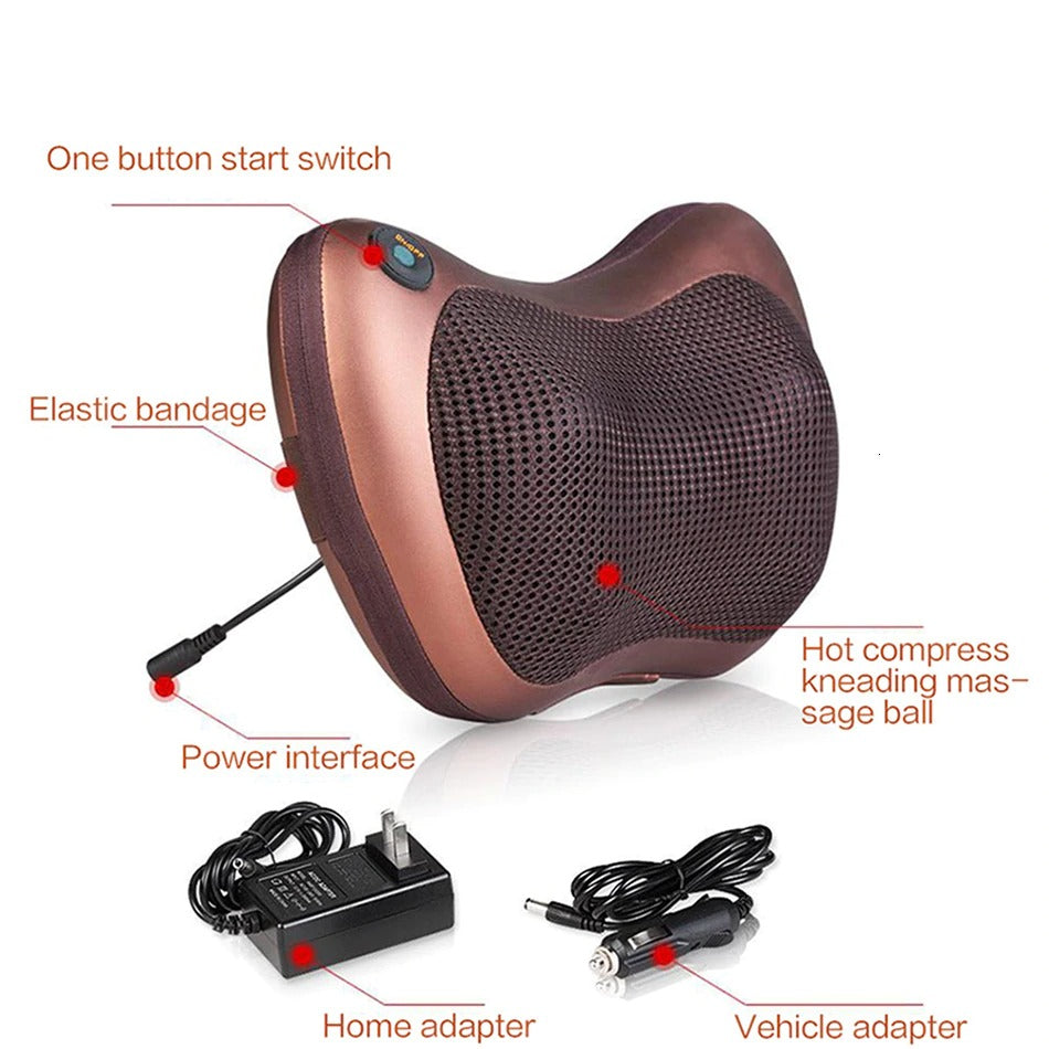 Massage Pillow For Car And Home (4859728658466)