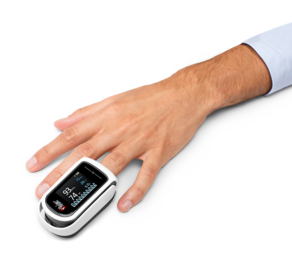 Fingertip Pulse Oximeter (4599678894114)
