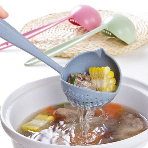 2-in-1 Long Handle-Spoon
