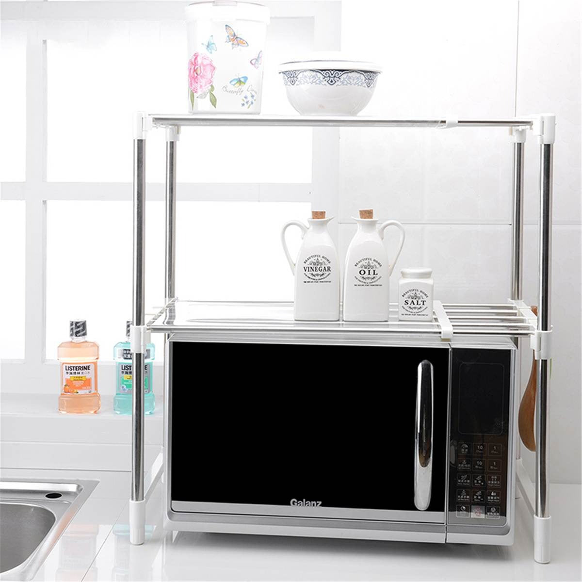 Stainless Steel Oven Storage Rack (4859016806434)