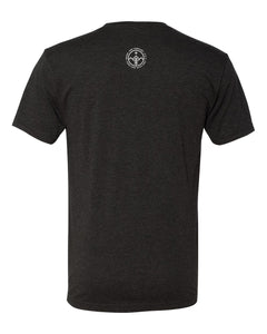 3IN1 Threads Idaho Topographic Tri-blend T-Shirt - Vintage Black