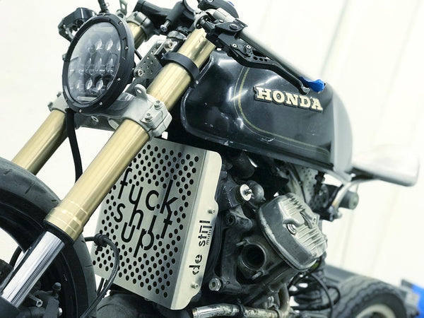 CX500 radiator cover