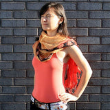 Linen Décor Scarves - Oranges Combo - Body & Soul Wisdom