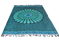 Peacock Classic Mandala Sarongs - Body & Soul Wisdom