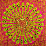 Ruby Lime Mandala Sarongs - Body & Soul Wisdom