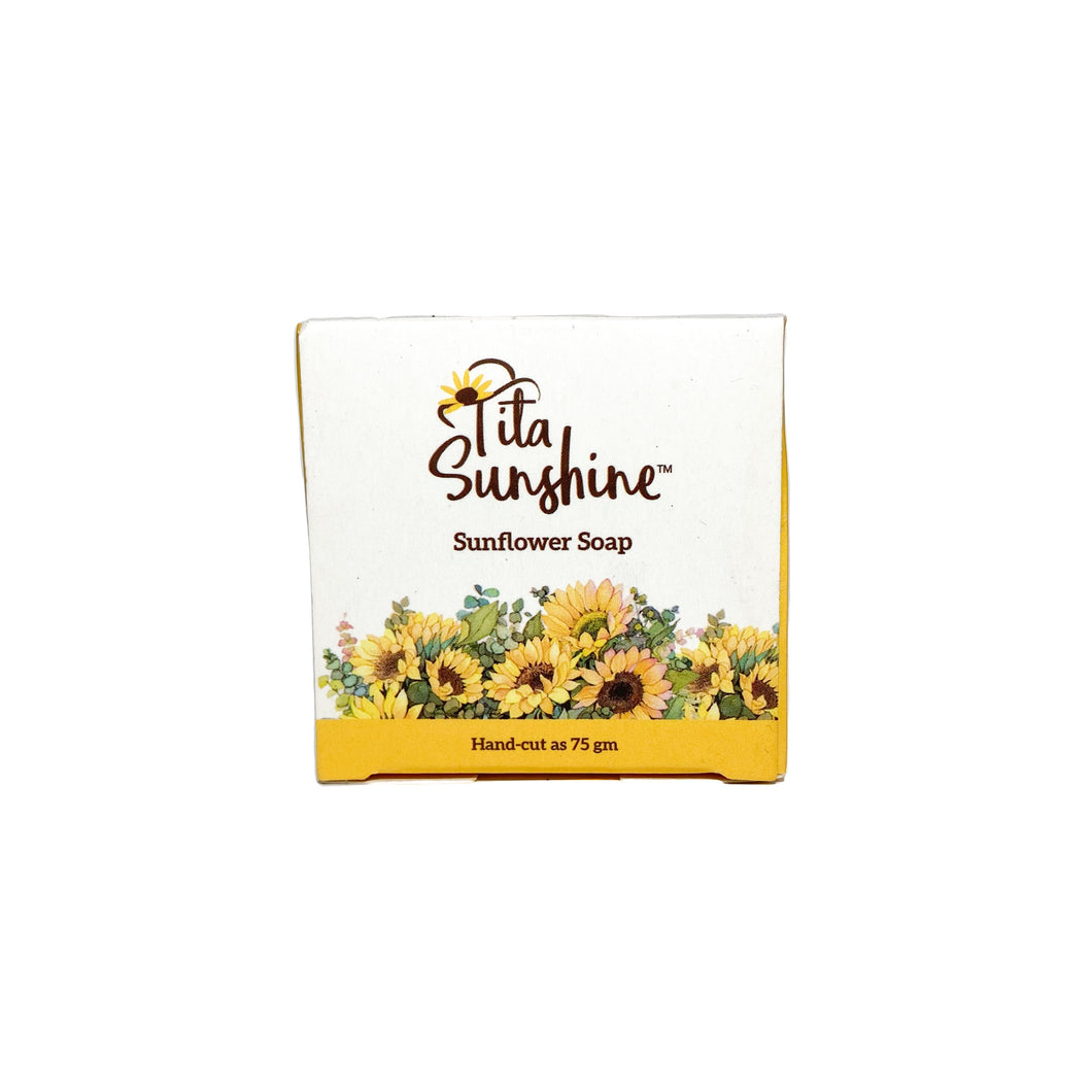 Tita Sunshine Sunflower Soap