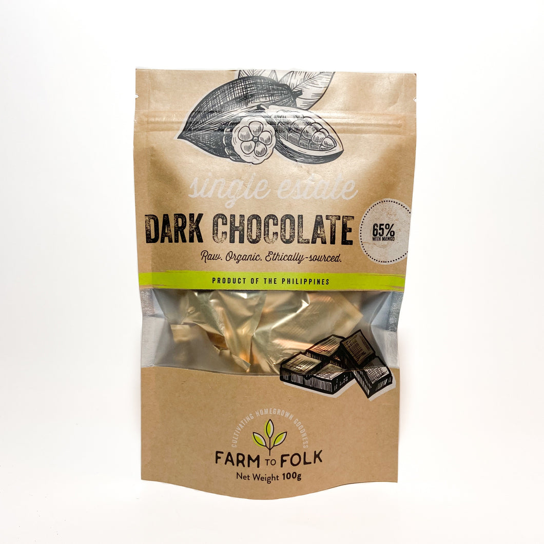 Farm to Folk 65% Dark Chocolate