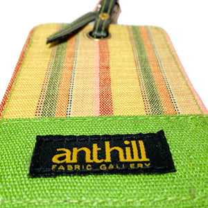 Anthill Fabric Luggage Tags