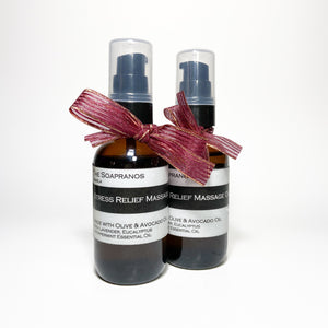 The Soapranos Massage Oil
